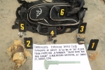 The suspect's backpack and bomb parts.